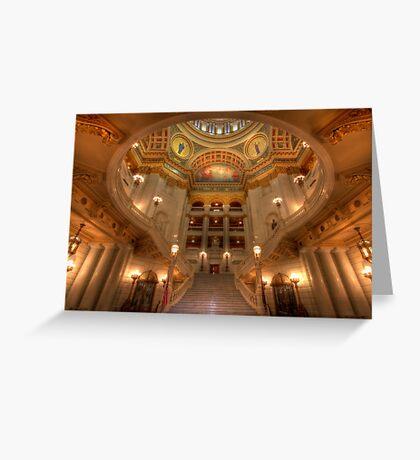 Architectural Treasure Greeting Card