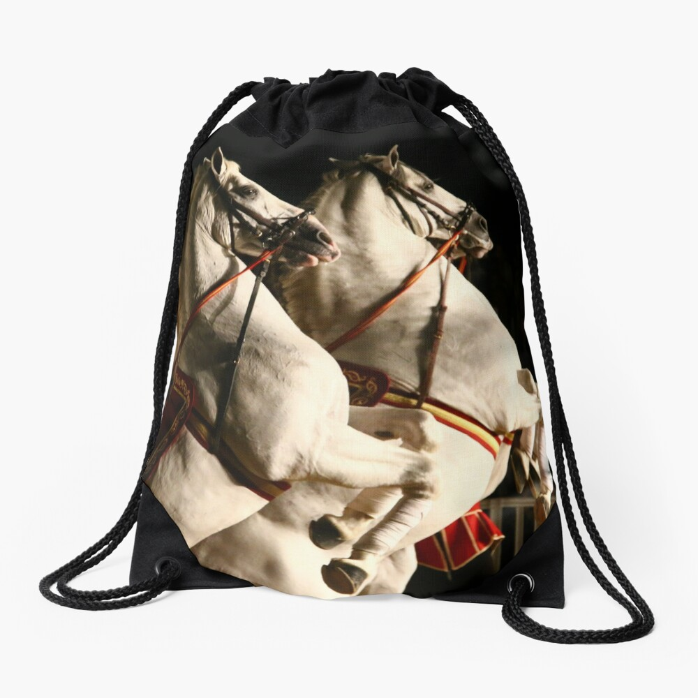 Hoofs High in Rota, Spain! Drawstring Bag