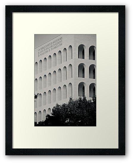 Il Mito di Roma - Palazzo della Civiltà del Lavoro (5 / 15) by Giulio Menna