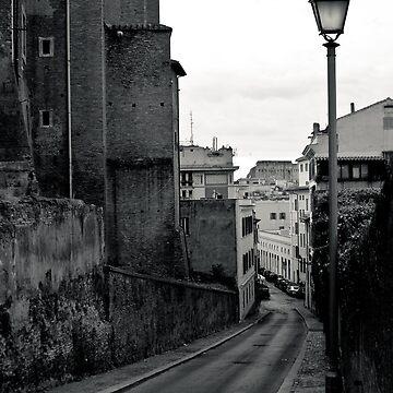 Il Mito di Roma - Via dei Santissimi Quattro Coronati (8 / 15) by giuliomenna