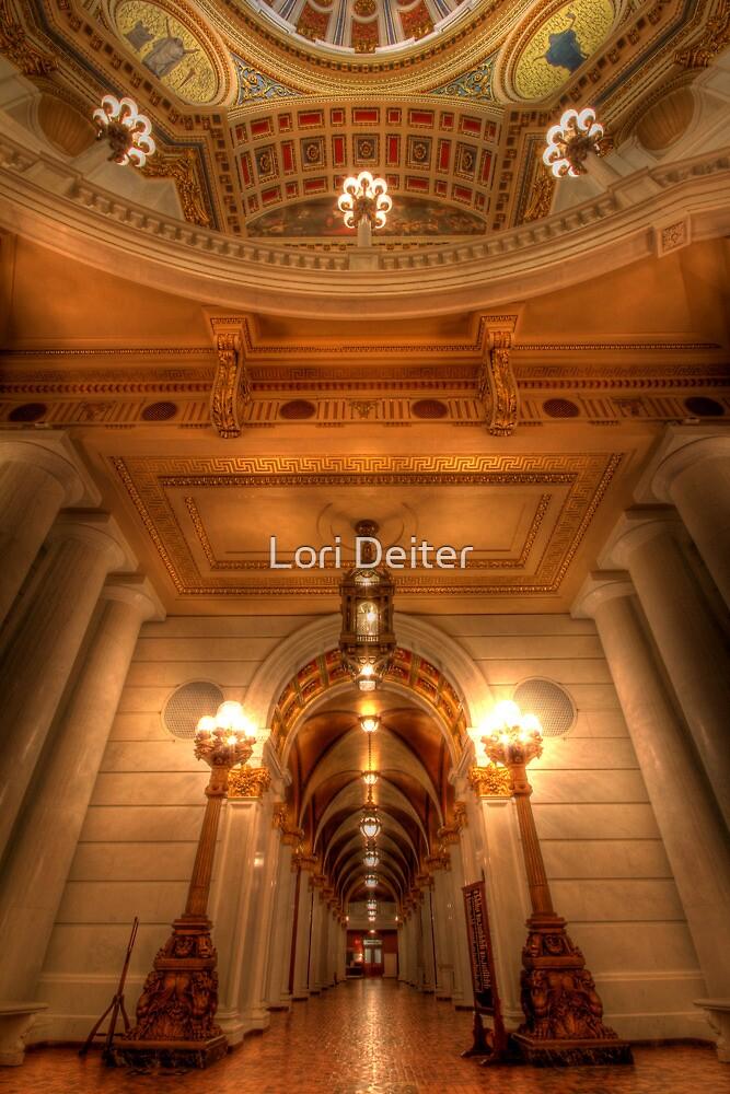 Golden Halls by Lori Deiter