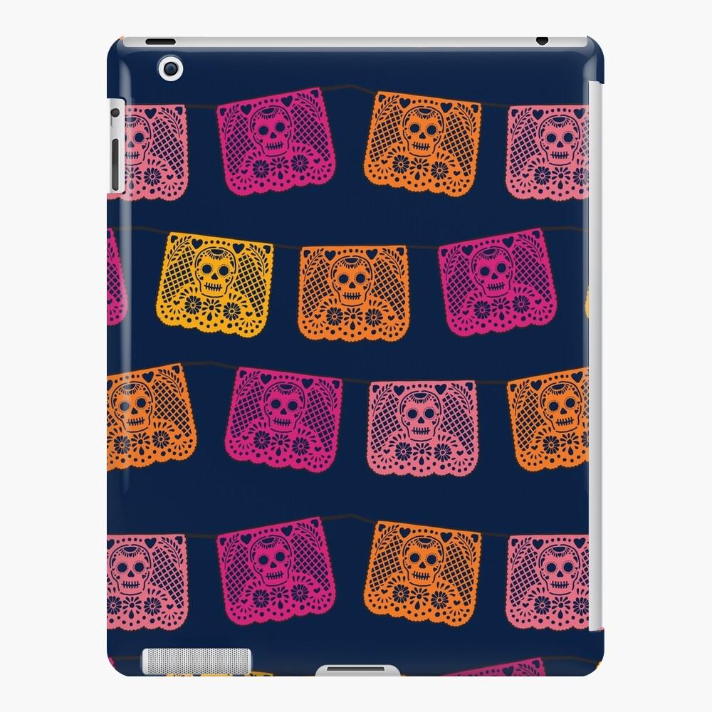 Dia de los Muertos papel picado flags iPad Snap Case