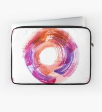 Abstract Watercolor Stroke  Laptop Sleeve