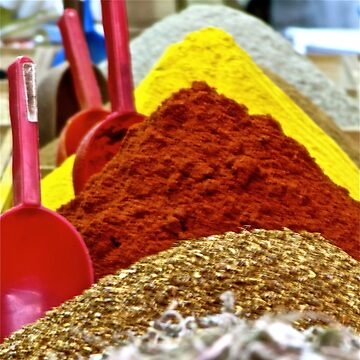 Moroccan spices by gorecki79