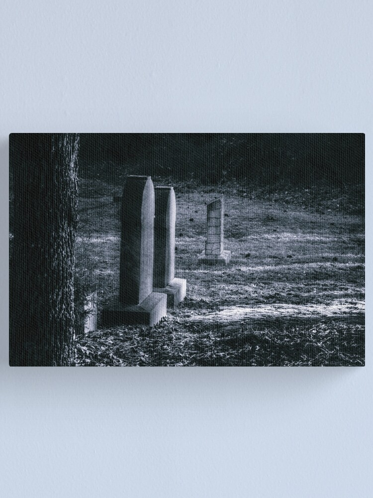 Alternate view of Life's Reflections Under a Full Moon Canvas Print