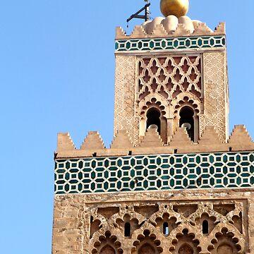 Koutoubia Mosque - Marrakech, Morocco by gorecki79