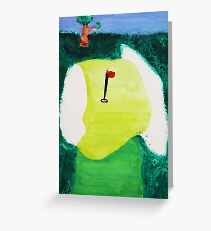 My Favorite Golf Hole! Greeting Card