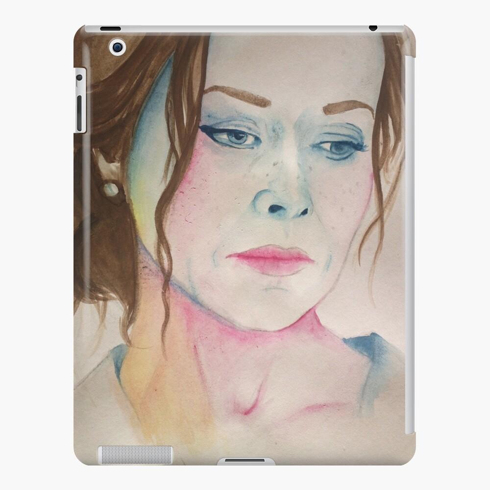 Amanda Mealing Actress amanda mealing watercolour   ipad case & skin