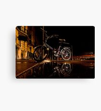 Street Bike Canvas Print