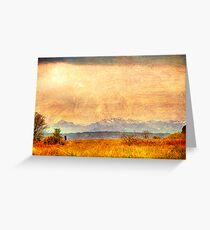 Painted Light, View from Discovery Park, Seattle Washington Greeting Card