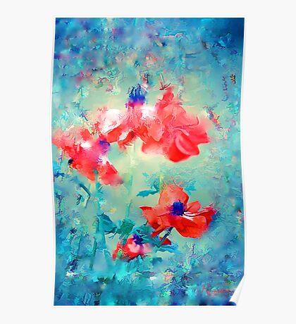 tender flowers Poster