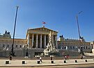Austrian Parliament Building by Lee d'Entremont