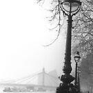 1982 - london: riverside by Ursa Vogel