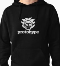Protohype Logo - White Pullover Hoodie