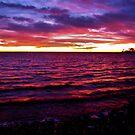 Eastern Shore Sunset by InvictusPhotog