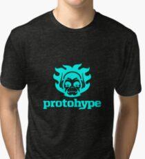 Protohype Logo - Blue Tri-blend T-Shirt