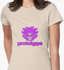 Protohype Logo - Purple Women's Fitted T-Shirt
