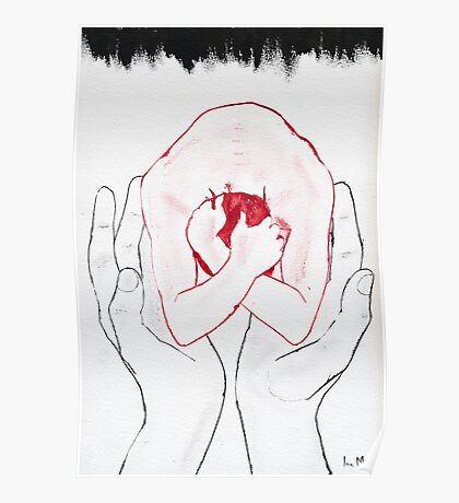 There is a hand that protects me Poster