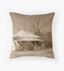 Old Homestead on Green Vallley Road Throw Pillow