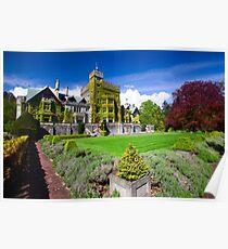 Hatley Castle Courtyard Poster