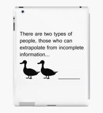 Duck Duck ____ iPad Case/Skin
