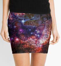 Kitty Galaxy Mini Skirt