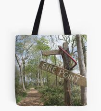 Fire Point Tote Bag