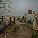 doe near the bridge by lynnieB
