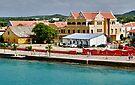 On the Pier at Kralendijk, Bonaire by Gerda Grice