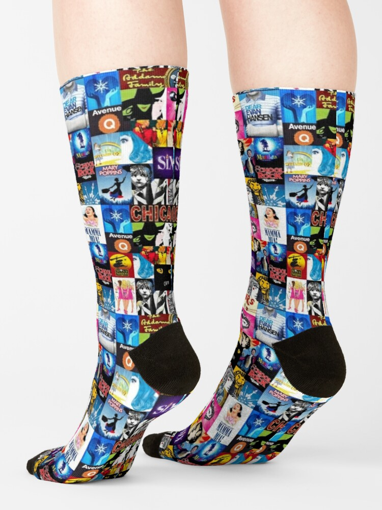 Alternate view of Musical Collage Socks