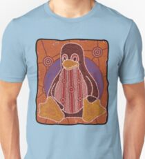 Tux (Solid background) Unisex T-Shirt