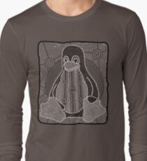 Tux (Monochrome) Long Sleeve T-Shirt
