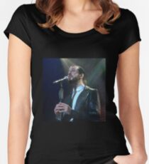 Avi Kaplan -- Standing By Women's Fitted Scoop T-Shirt