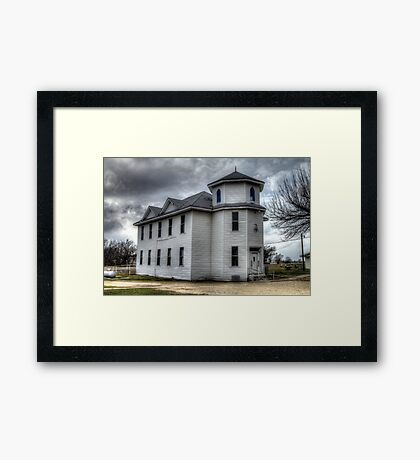 Pioneer Masonic Lodge Framed Print