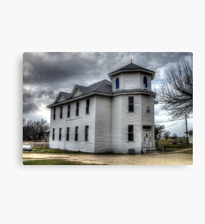 Pioneer Masonic Lodge Canvas Print