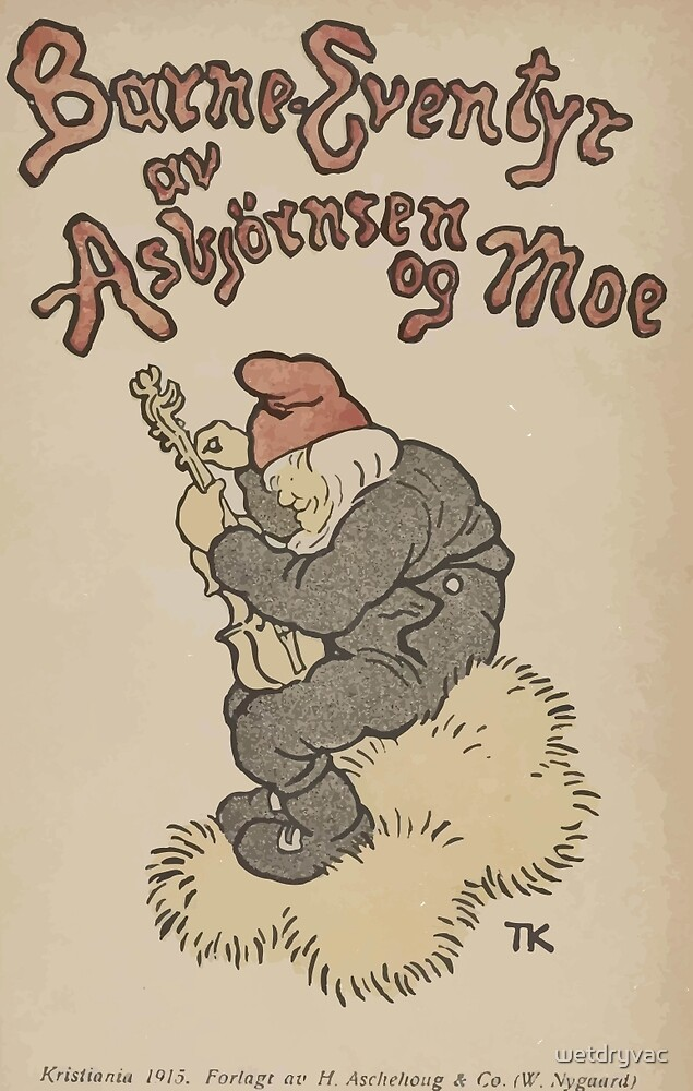Theodor Kittelsen Barne Eventyr 1915 inset by wetdryvac