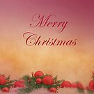Decorative Merry Christmas With Harmony by hurmerinta
