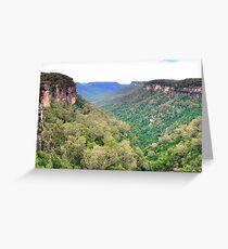 Kangaroo Valley Greeting Card