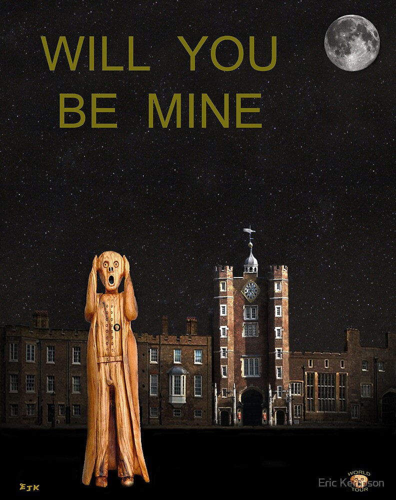 The Scream World Tour St James's Palace Will You Be Mine by Eric Kempson