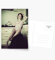 Kitchen wench Postcards