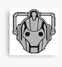 Cybermen Beads Canvas Print