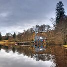 The Boat House, Loch Awe by Mark White