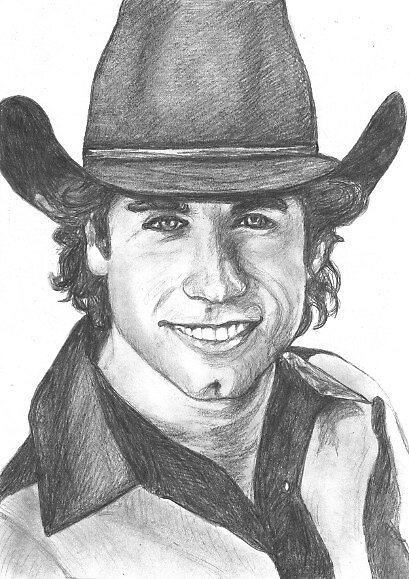 john travolta by dirtthirsty