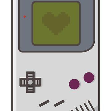 Game Boy Lover de AlundrART