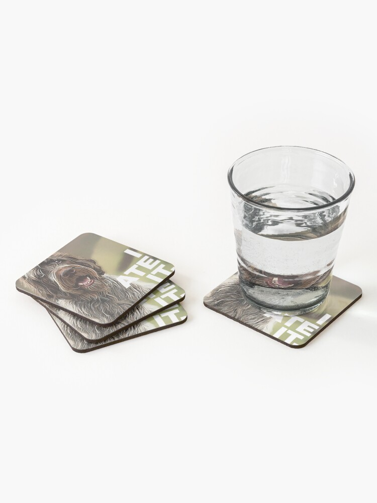 Alternate view of I ATE IT Coasters (Set of 4)