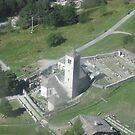 La chiesa vecchia di Macugnaga - Monte Rosa . Italy . Europa by Guendalyn