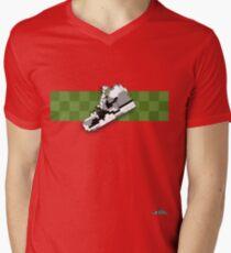 8-bit trainer shoe 1 T-shirt Men's V-Neck T-Shirt