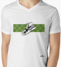 8-bit trainer shoe 1 T-shirt Men's V-Neck T-Shirt