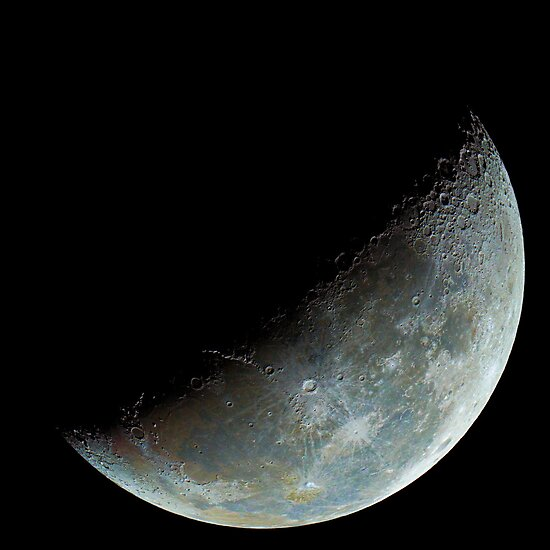 Crescent Moon by Alex Cherney