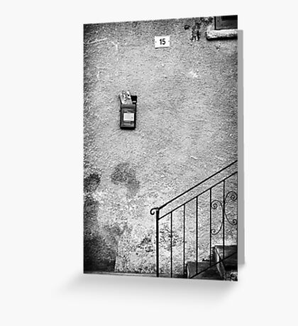 Fifteen and Mailbox Greeting Card